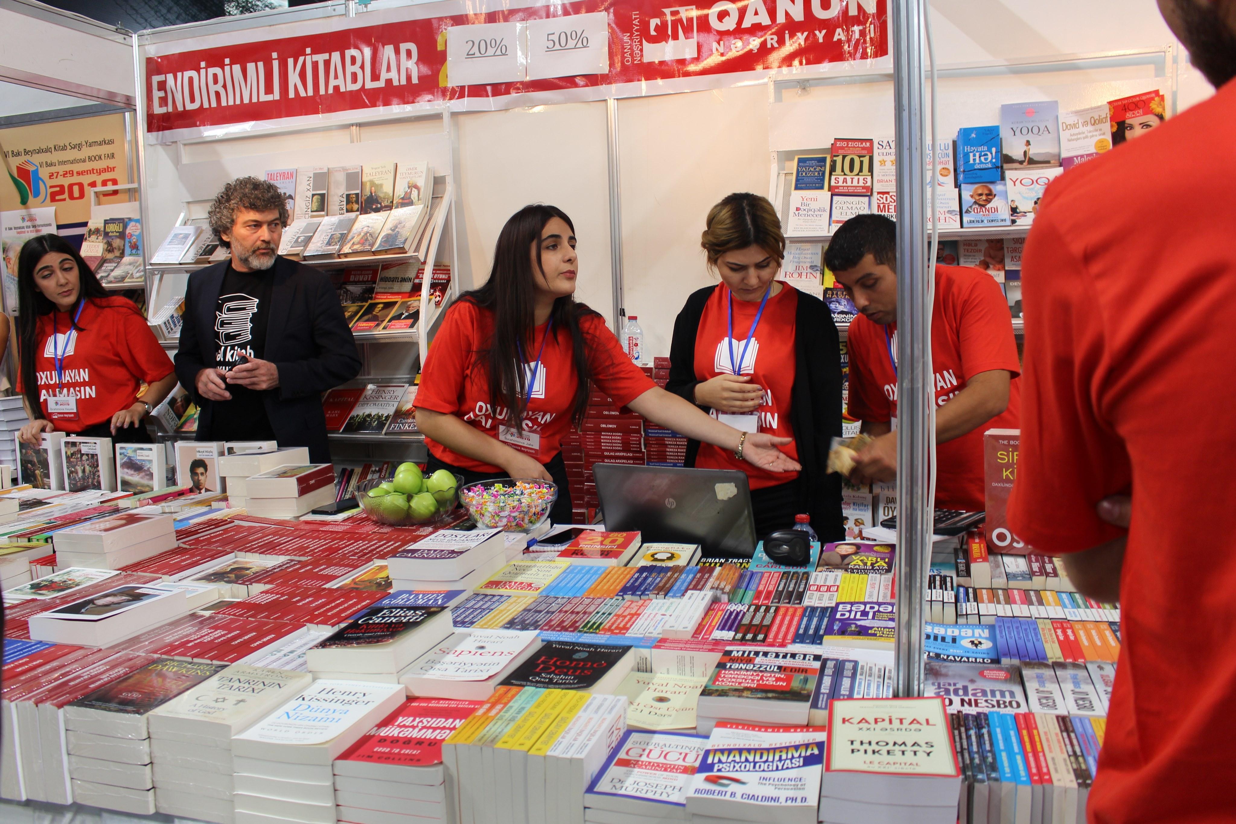 VI Bakı Beynəlxalq Kitab Sərgi-Yarmarkası yekunlaşdı