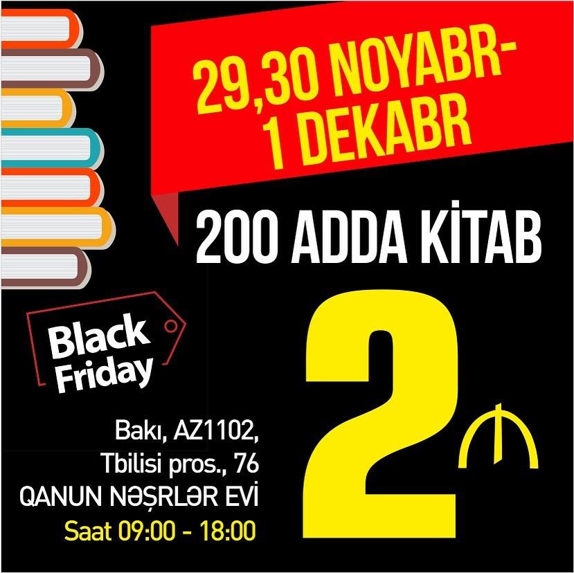 """""""Black Friday"""" fürsəti"""