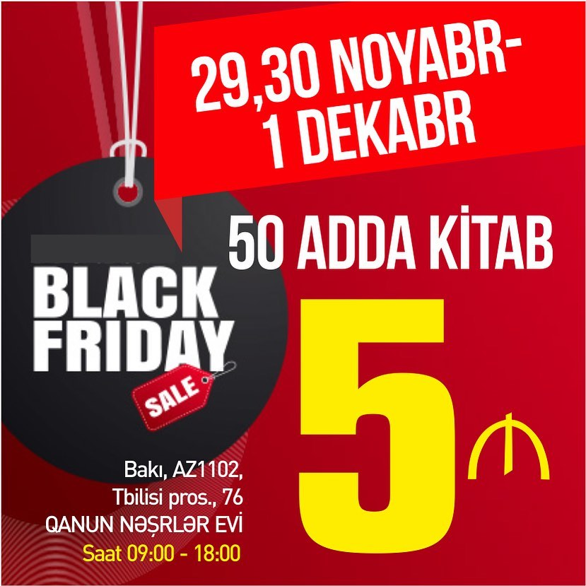 """Black Friday"" fürsəti"