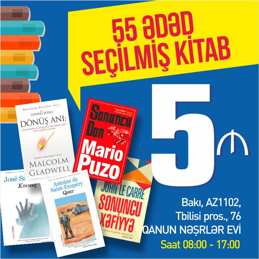 5 AZN-ə kitablar